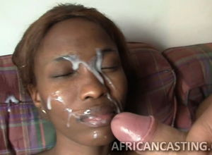 Milky Mayo on Ebony Faces-Huge Facial..