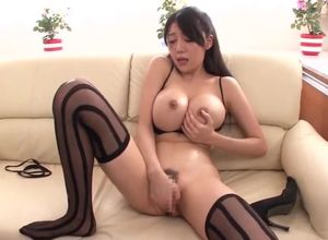 Super-fucking-hot big-chested oriental..