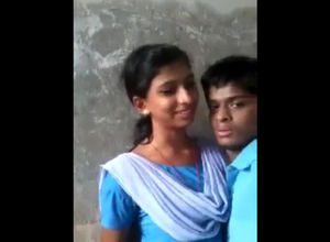 Indian college schoolgirls smooching..