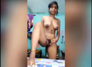 bare Indian little girl unwrap for her..