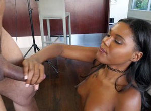 Teenyblack- Steaming Black Damsel..